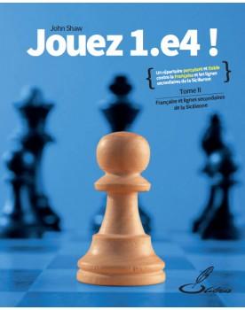 Le grand maître international d'échecs John Shaw vous propose un répertoire complet pour les Blancs, basé sur le coup 1.e4.