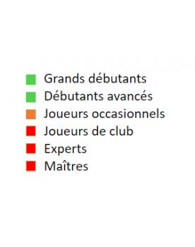 Livre d'échecs français pour grands débutants et débutants avancés