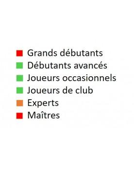 Livre d'échecs français pour débutants avancés, joueurs occasionnels et joueurs de club