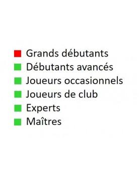 Livre d'échecs français pour débutants avancés, joueurs occasionnels, joueurs de club, experts et maîtres