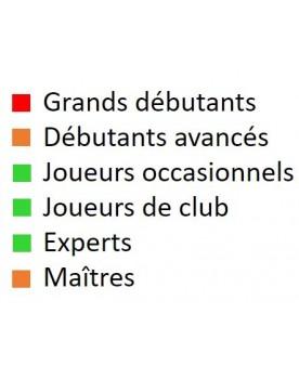 Livre d'échecs français pour joueurs occasionnels, joueurs de club et experts