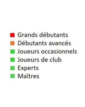 Livre d'échecs français pour joueurs occasionnels, joueurs de club, experts et maîtres