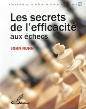 Livres d'échecs pour s'entraîner : les secrets de l'efficacité aux échecs de John Nunn