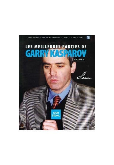 Parties d'échecs : les meilleures parties de Garry Kasparov - Superbe sacrifice de tour contre Anand
