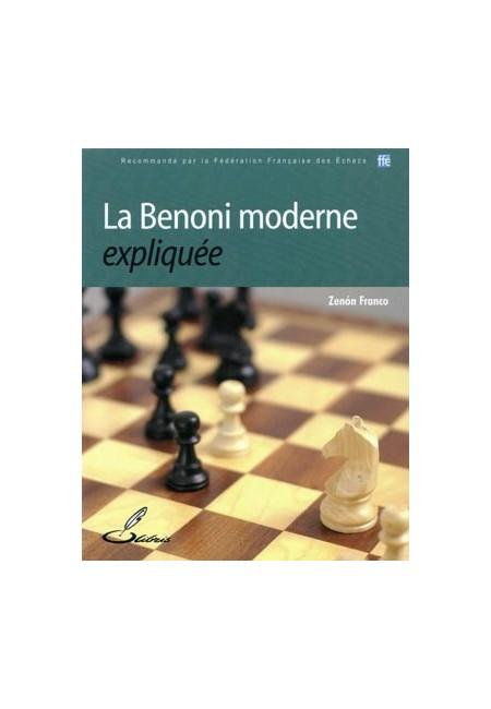 ''La Benoni moderne expliquée'' est un livre d'échecs qui vous expliquera les idées essentielles de la défense Benoni.