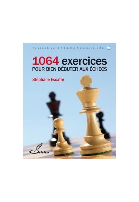 Ce livre d'échecs permettra aux débutants de consolider leur apprentissage des règles du jeu d'échecs