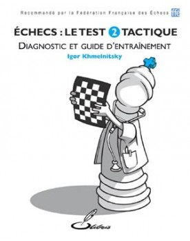 Grâce à ce livre d'échecs, on peut identifier ses points forts et ses points faibles.