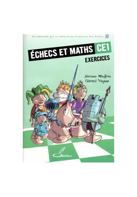 Ce livre d'échecs permettra aux élèves de CE1 d'apprendre à bien compter, analyser et déduire.