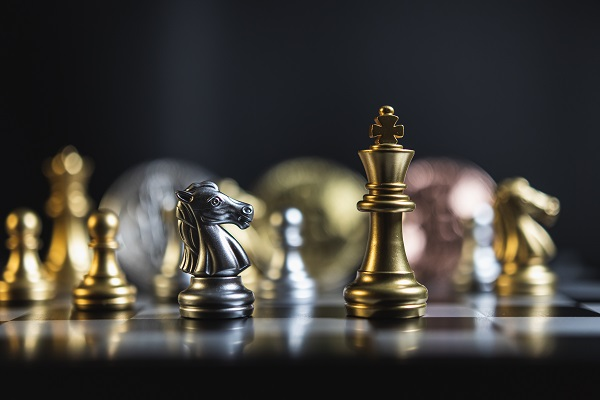 Le jeu d'échecs et le bitcoin